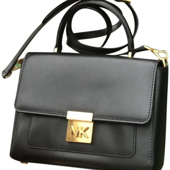 d0a7b980fb6e Michael Kors MINDY Medium Leather Convertible BAG